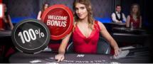 100% talletusbonus jopa 200 dollariin asti Live-Casinolla